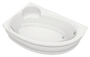 Акриловая ванна асимметричная Bliss Belina 170x110 левосторонняя