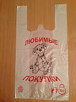 """Пакет полиэтиленовый """"Майка""""27х50,уп/100"""