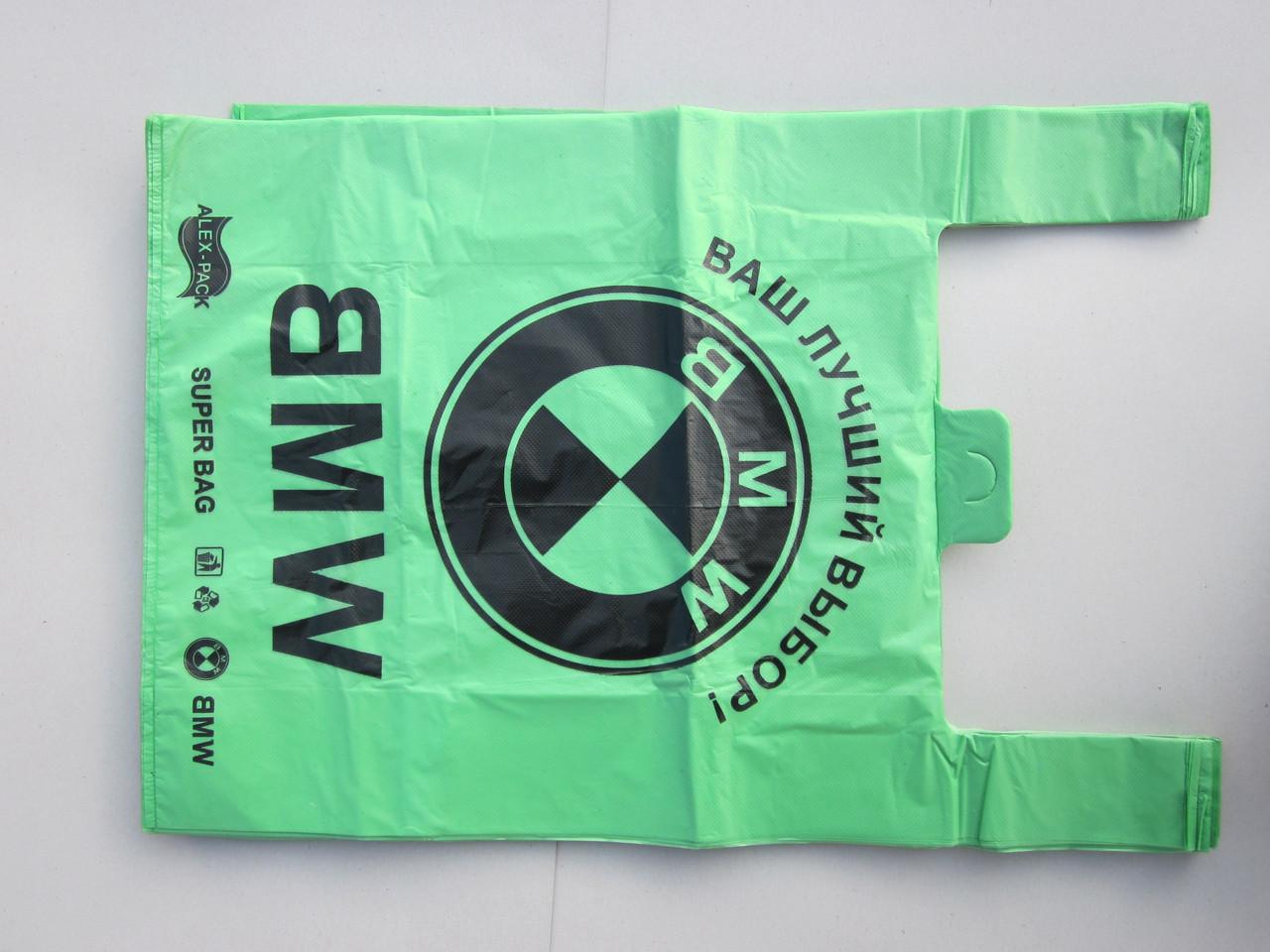 Пакет Майка 39*58 (100шт/уп) 35мкр BMW