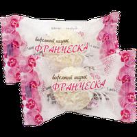 Конфеты вафельный шарик Франческа с цельным миндалём 1,5кг. ТМ Балу, фото 1