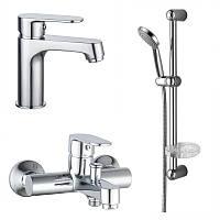 LESNA набор смесителей для ванны(05070 + 10070 + штанга)