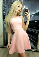 """Платье """"Наиль"""", светло-розовое"""