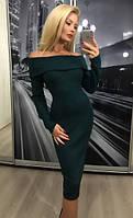 """Платье """"Каталея"""", зелёное"""