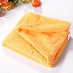 Детская чалма - полотенце для сушки волос Желый