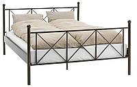 Кровать двухспальная140x200 см металическая