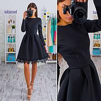 """Платье """"Скарлет"""", черное"""