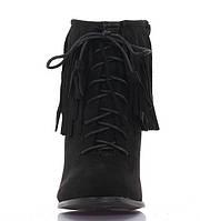 Женские ботинки на каблуке весна осень размер 35-41