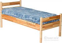 Детская кровать односпальная ламельная основа из сосны