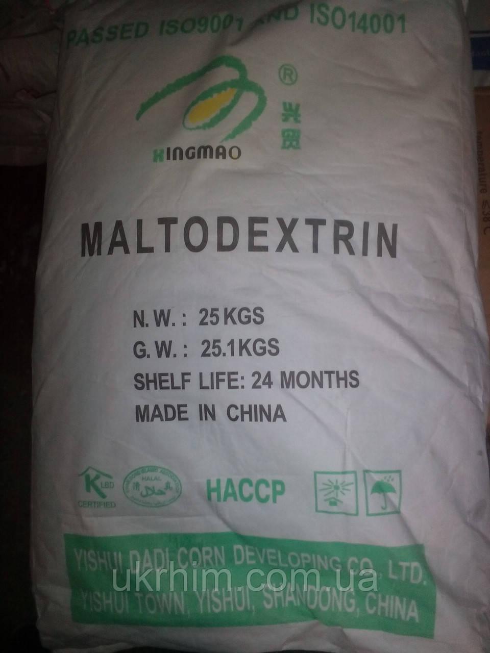Мальтодекстрин DE 15-20, DE 7-13