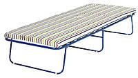 Кровать раскладушка  80х193см с матрасом  (ламели)
