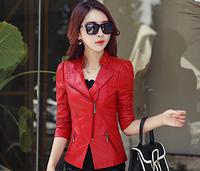 Жіноча шкіряна куртка. Модель 2031, фото 6