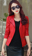 Жіноча шкіряна куртка. Модель 2031, фото 5