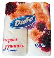 """Бумажные полотенца """"Диво"""" двухслойные 2 шт."""