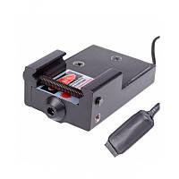 Красный лазерный целеуказатель для пистолета Vector Optics Inferno (5mW, 650nm, 3xAG13). Не дорого. Код: КГ343