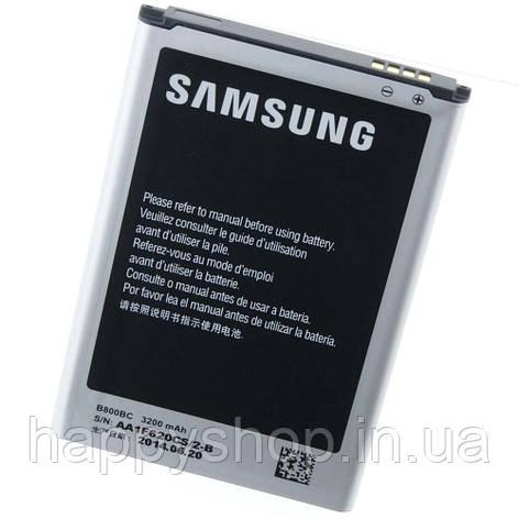 Оригінальна батарея для Samsung N9000 (Note 3) (B800BC), фото 2