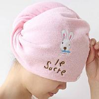 Чалма - полотенце для сушки волос Розовый Оптом