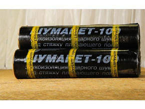 Шуманет-100Комби гидро-звукоизоляционный рулонный материал, фото 2