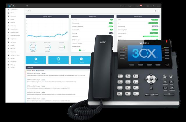 3CX Phone System и 3CX WebMeeting