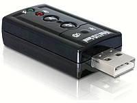 Звуковая карта USB 7.1, внешняя звуковая карта usb 7.1