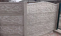 Столб еврозабора, забора из бетона