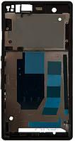 Передняя панель корпуса (рамка дисплея) Sony C6602 L36h Xperia Z / C6603 L36i Xperia Z / C6606 L36a Xperia Z Black