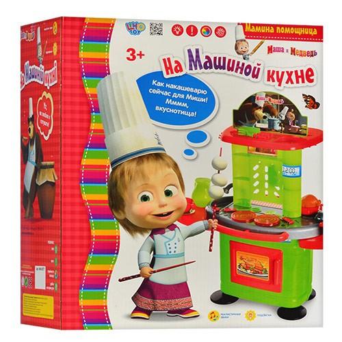 Детская кухня Маша и Медведь (звук, свет)