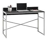 Столик офисный стильный письменный, компьютерный на металлических ножках , фото 1