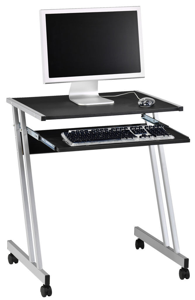 Столик для компьютера и для ноутбука стальной на колесиках  - Интернет-магазин «МебеЛайм» - товары для дома и всей семьи с доставкой по Украине в Киеве