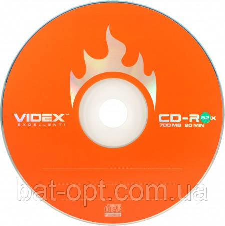 Диск Videx CD-R 700Mb 52xbulk 10