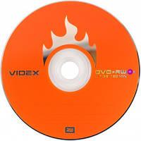 Диск Videx DVD+RW 4,7Gb 4x Bulk 10 pcs (20625)