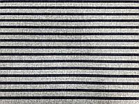 Трикотаж Модал Полоса (т. синий на св. сером) (арт. 051258)