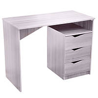 Письменный стол с 3-мя ящиками, цвет дуб, ширина 1 метр