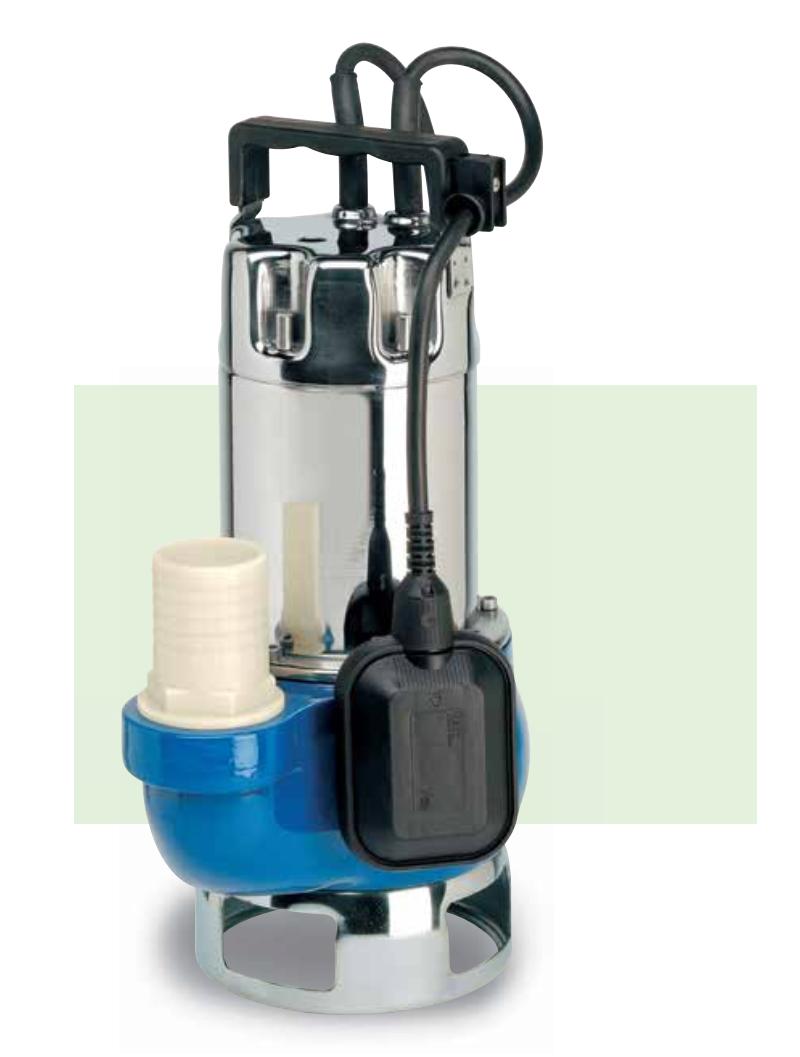 Погружные насосы для грязной воды Speroni SXG1100