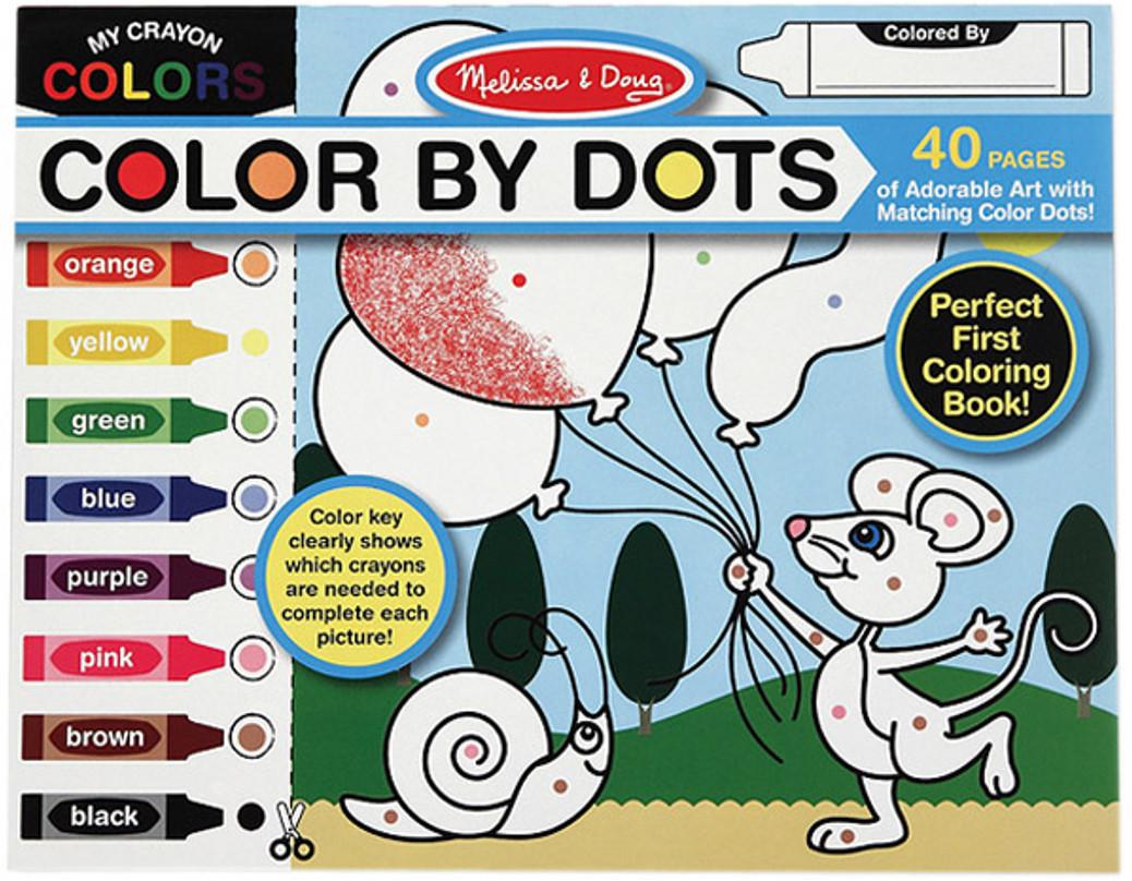 раскраска Melissa Doug забавные животные Md4006
