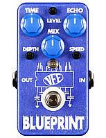 Бутиковая педаль (USA) VFE Pedals Blueprint delay аналоговый дилей