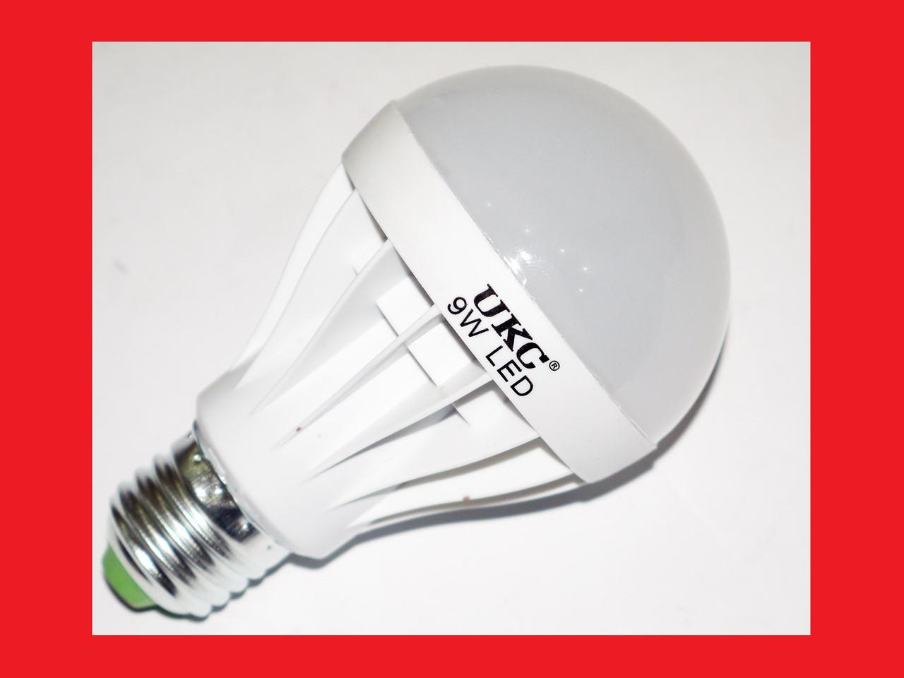 Светодиодная лампа LED LAMP E27 9W UKC