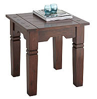 Столик приставной (масив акации) 50х50х45см антик