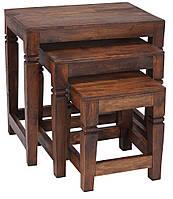 Набор столиков (масив шишами)