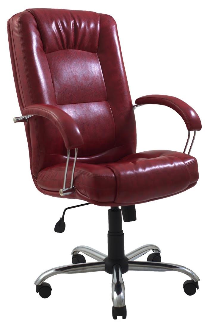 Компьютерное Кресло Альберто (Хром) 2кат