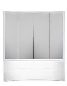 Шторы для ванн KO&PO F 150W прозрачные 150x140