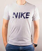 Мужская футболка с надписью Nike в цветах