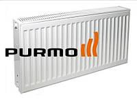 Стальной радиатор Purmo Compact 500x400 боковое подключение, 22 тип
