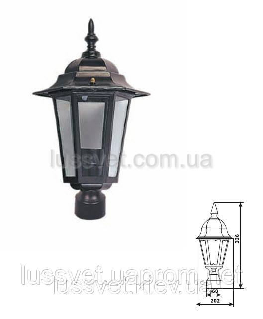 Парковый светильник на столбик DELUX PALACE A03