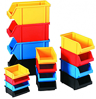 Ящик для метизов , емкость для мастерской 230х145х125 цветной