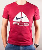 Крутая спортивная футболка Nike ACG в красном цвете