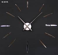 Часы настенные Серебро часовой механизм цифры стрелки