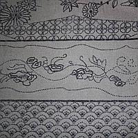 Ткань - Вуаль Флок
