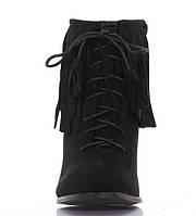 Модные женские ботинки на каблуке весна осень  размер 35-41