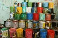 Отходы использования красок
