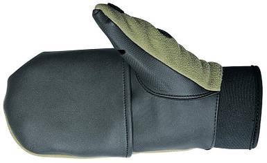 Перчатки-варежки Norfin 703056, ветрозащитные, сохраняют тепло, съемные части крепятся на липучку